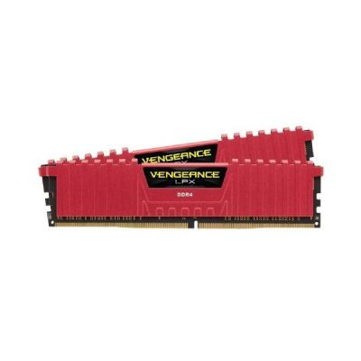 Corsair 16GB (2x8GB)  Vengeance LPX Rot DDR4-3000 RAM CL15 (15-17-17-35) Kit