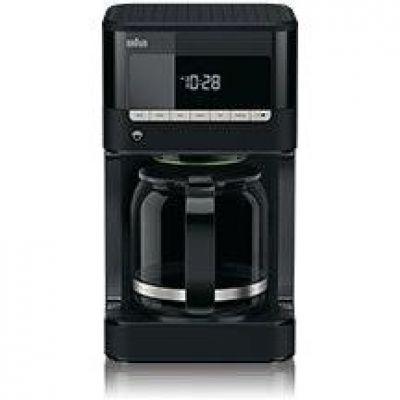 Braun PurAroma 7 KF 7020 Kaffeemaschine schwarz