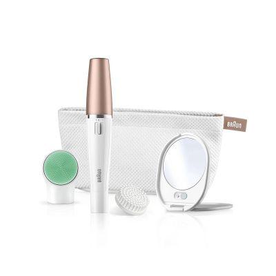 Vorschaubild von Braun FaceSpa 851v Gesichtsreinigungsbürste und -epilierer Beauty Edition Bronze
