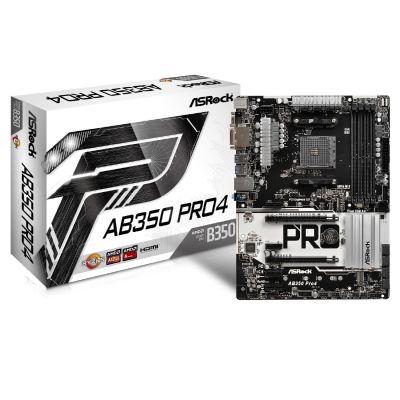 ASRock AB350 Pro4, Mainboard