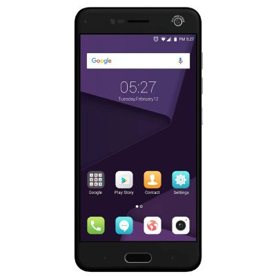 ZTE Blade V8 grey Dual-SIM Android N Smartphone