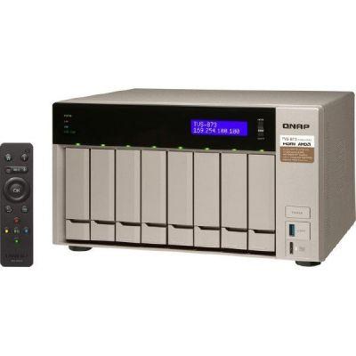 QNAP TVS-873-16G NAS System 8-Bay Leergehäuse - Preisvergleich
