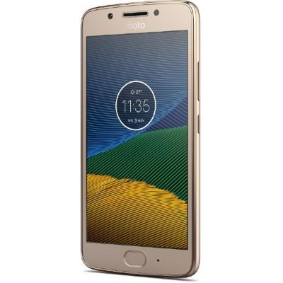 Moto G5 Plus fine gold Android™ 7.0 Smartphone