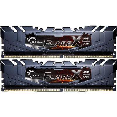 G Skill 16GB (2x8GB) G.Skill Flare X Black DDR4-3200 CL14 (14-14-14-34) DIMM RAM Kit