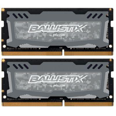 Ballistix 32GB (2x16GB)  Sport LT DDR4-2666 CL16 SO-DIMM RAM Speicher Kit