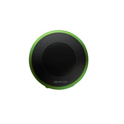 BOOMPODS Boompods Aquapod grün portabler Bluetooth-Lautsprecher, wasserdicht, Halter