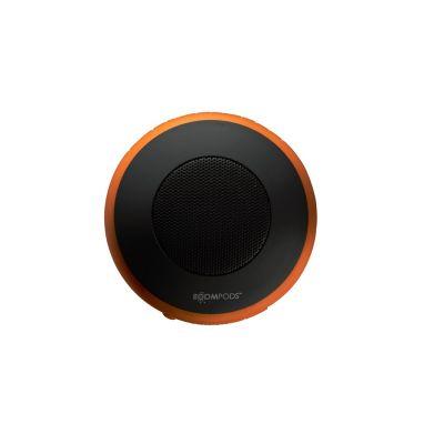 BOOMPODS Boompods Aquapod orange portabler Bluetooth-Lautsprecher, wasserdicht, Halter