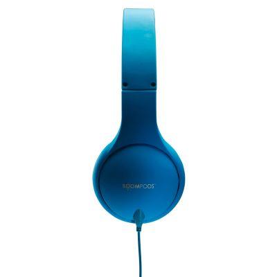 BOOMPODS Boompods headpod MFI blau On-Ear Kopfhörer, faltbar, mit Kabelfernbedienung