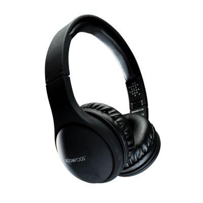 BOOMPODS Boompods headpod schwarz Bluetooth On-Ear Kopfhörer, faltbar