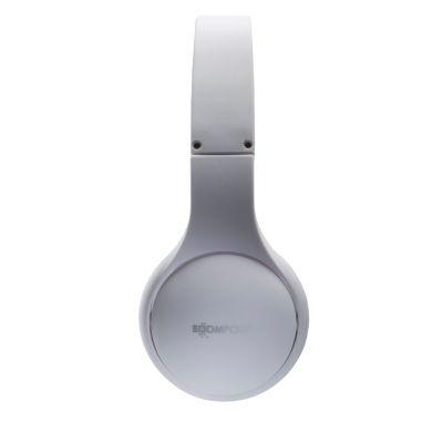 BOOMPODS Boompods headpod weiß Bluetooth On-Ear Kopfhörer, faltbar