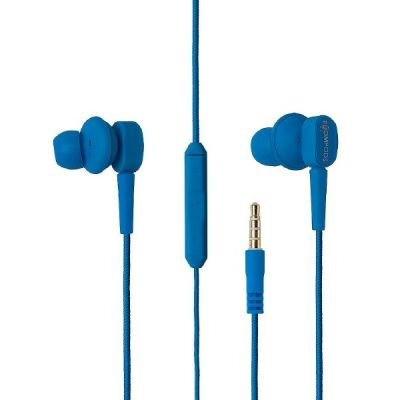 BOOMPODS Boompods Earbuds MFI blau In-Ear Kopfhörer, mit Kabelfernbedienung