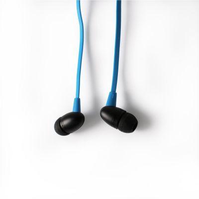 BOOMPODS Boompods Tuffbuds blau In-Ear Kopfhörer mit Kabelfernbedienung