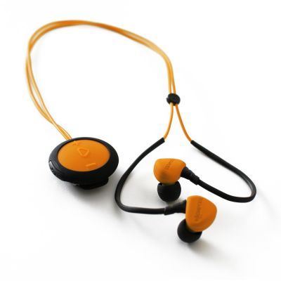 BOOMPODS Boompods Sportpods race orange In-Ear Bluetooth Kopfhörer