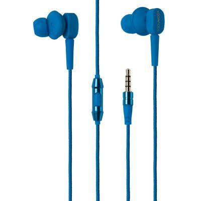 BOOMPODS Boompods Earbuds blau In-Ear Kopfhörer mit Kabelfernbedienung