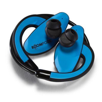 BOOMPODS Boompods Sportpods blau Over-Ear Ohrbügel Kopfhörer Kabel/Bluetooth