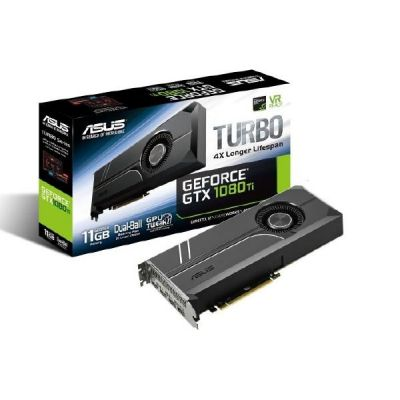 Asus GeForce GTX 1080Ti Turbo 11 GB GDDR5X Grafikkarte 2xDP/2xHDMI - Preisvergleich