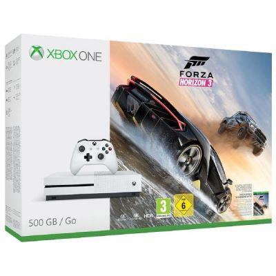 Microsoft Xbox One S Konsole 500GB Forza Horizo...