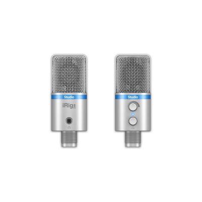 Reloop IK Multimedia iRig Mic Studio - Mikrofon Silver