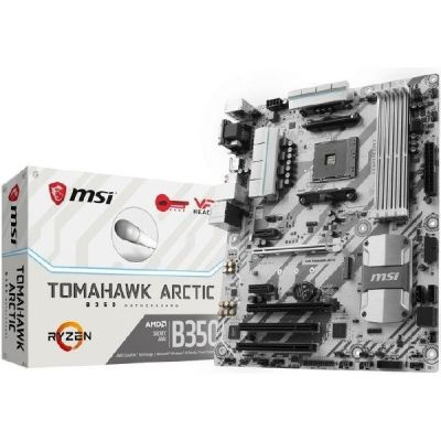 MSI B350 Tomahawk Arctic SATA600/R/M.2/USB3.1 ATX Mainboard Sockel AM4 - Preisvergleich