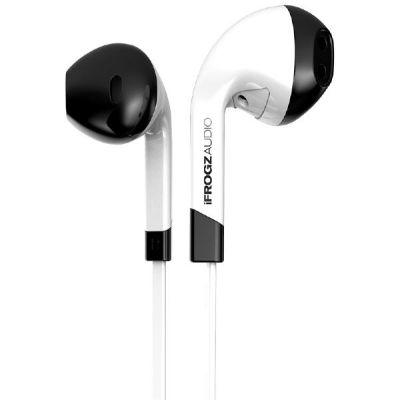 iFrogz ZAGG  Audio InTone Earbuds mit Mikro, weiß (2016 Version)