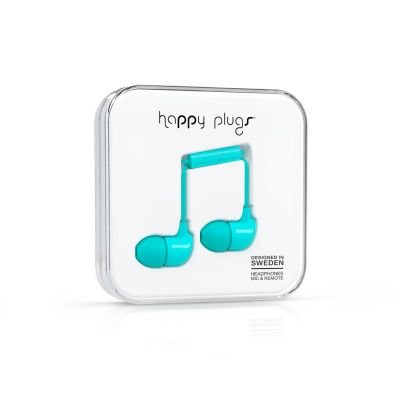 happy Plugs Happy Plugs 7722  In-Ear-Kopfhörer Türkis