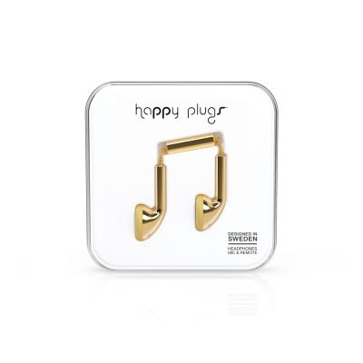 happy Plugs Happy Plugs 7727 Earbud Gold Deluxe Kopfhörer