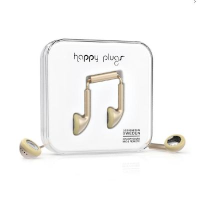 happy Plugs Happy Plugs 7831 Earbud matt Champagne Deluxe Kopfhörer