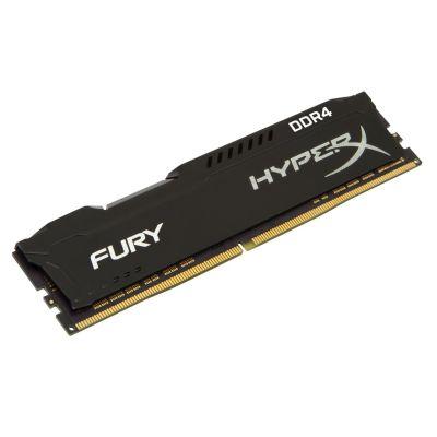 HyperX 16GB (1x16GB)  Fury schwarz DDR4-2400 CL15 RAM