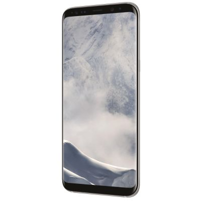 Samsung GALAXY S8+ arctic silver G955F 64 GB Android Smartphone