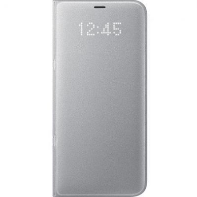 Samsung EF-NG950 LED View Cover für Galaxy S8 silber