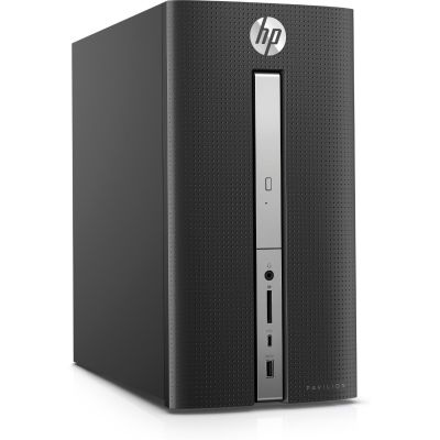 Bild 1 - HP Pavilion 570-p084ng Desktop PC i5-7400 8GB/1TB Intel HD630 ohne Windows