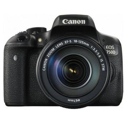 Canon  EOS 760D Kit EF-S 18-135mm f/3.5-5.6 IS STM Spiegelreflexkamera