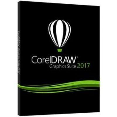 Corel DRAW Graphics Suite 2017 Upgrade Box (EN)