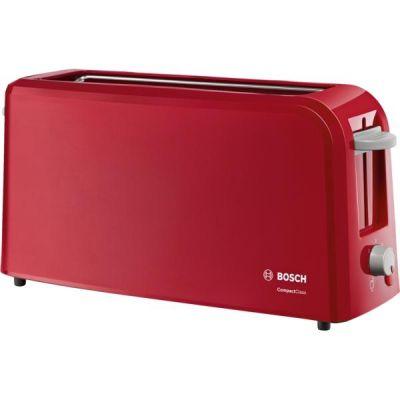 Bosch TAT3A004 CompactClass Langschlitz-Toaster rot - Preisvergleich