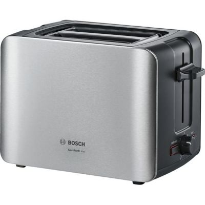 Bosch  Kompakt-Toaster ComfortLine TAT6A913, edelstahl-schwarz
