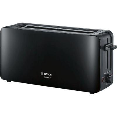 Bosch  Langschlitz-Toaster ComfortLine TAT6A003, max. 1090 Watt, schwarz