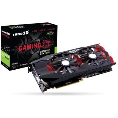 Inno3D  GeForce GTX 1080 Gaming OC 8GB GDDR5X Grafikkarte 3xDP/DVI/HDMI