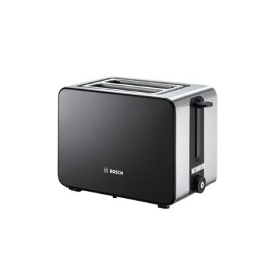 Bosch  Kompakt-Toaster TAT7203, edelstahl-schwarz