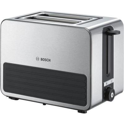 Bosch  Kompakt-Toaster TAT7S25, grau-schwarz