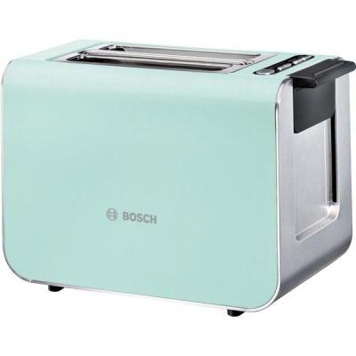 Bosch  Kompakt-Toaster Styline TAT8612, mint turquoise-black grey
