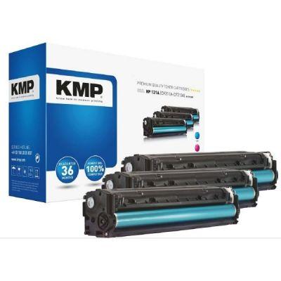 KMP  H-T171CMY Toner Multipack Cyan Magenta Gelb zu HP 131A