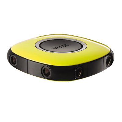 Cyberport VUZE 3D 360 Grad 4K VR Kamera gelb