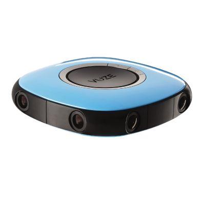 Cyberport VUZE 3D 360 Grad 4K VR Kamera blau