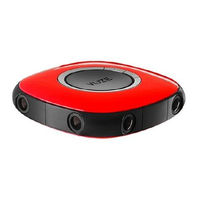 Cyberport VUZE 3D 360 Grad 4K VR Kamera rot
