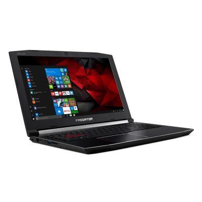 Acer  Predator Helios 300 Notebook i7-7700HQ SSD matt FHD GTX1050Ti Windows 10