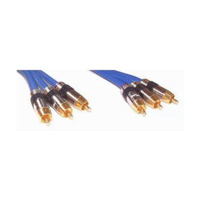 Cinch Premium Kabel (3x) 5m