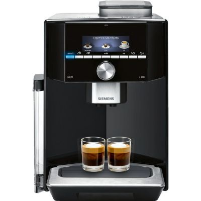 Siemens TI913539DE EQ.9 Kaffeevollautomat Edelstahl schwarz