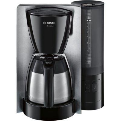 Bosch  TKA6A683 ComfortLine Thermo-Filterkaffeemaschine schwarz Edelstahl