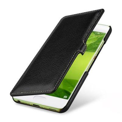 StilGut Book Type mit Clip für Huawei P10 lite schwarz - Preisvergleich