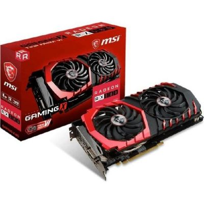 MSI AMD Radeon RX 580 Gaming X 8GB GDDR5 Grafikkarte 2x DVI/HDMI/2x DP